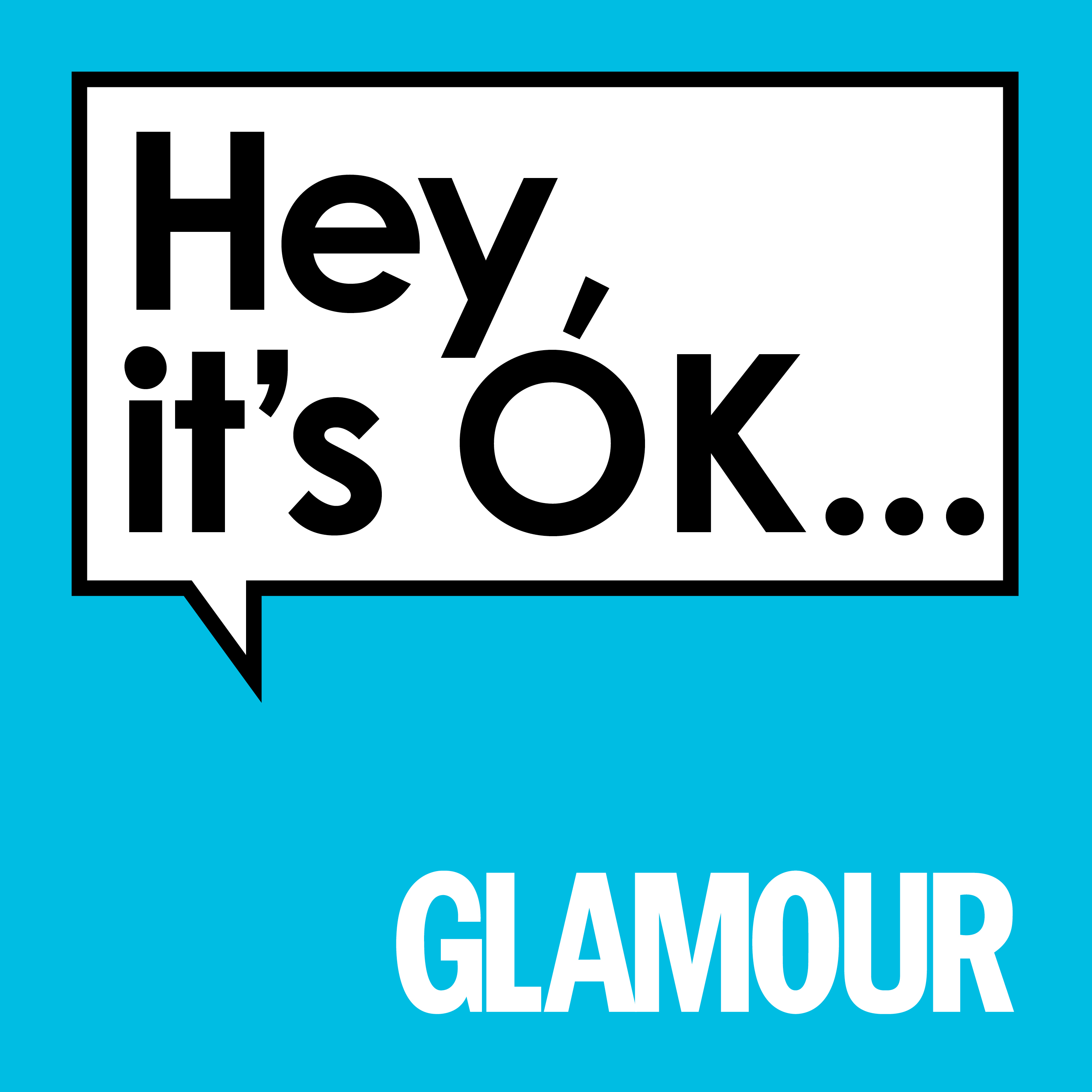 Image result for hey it's ok glamour podcast
