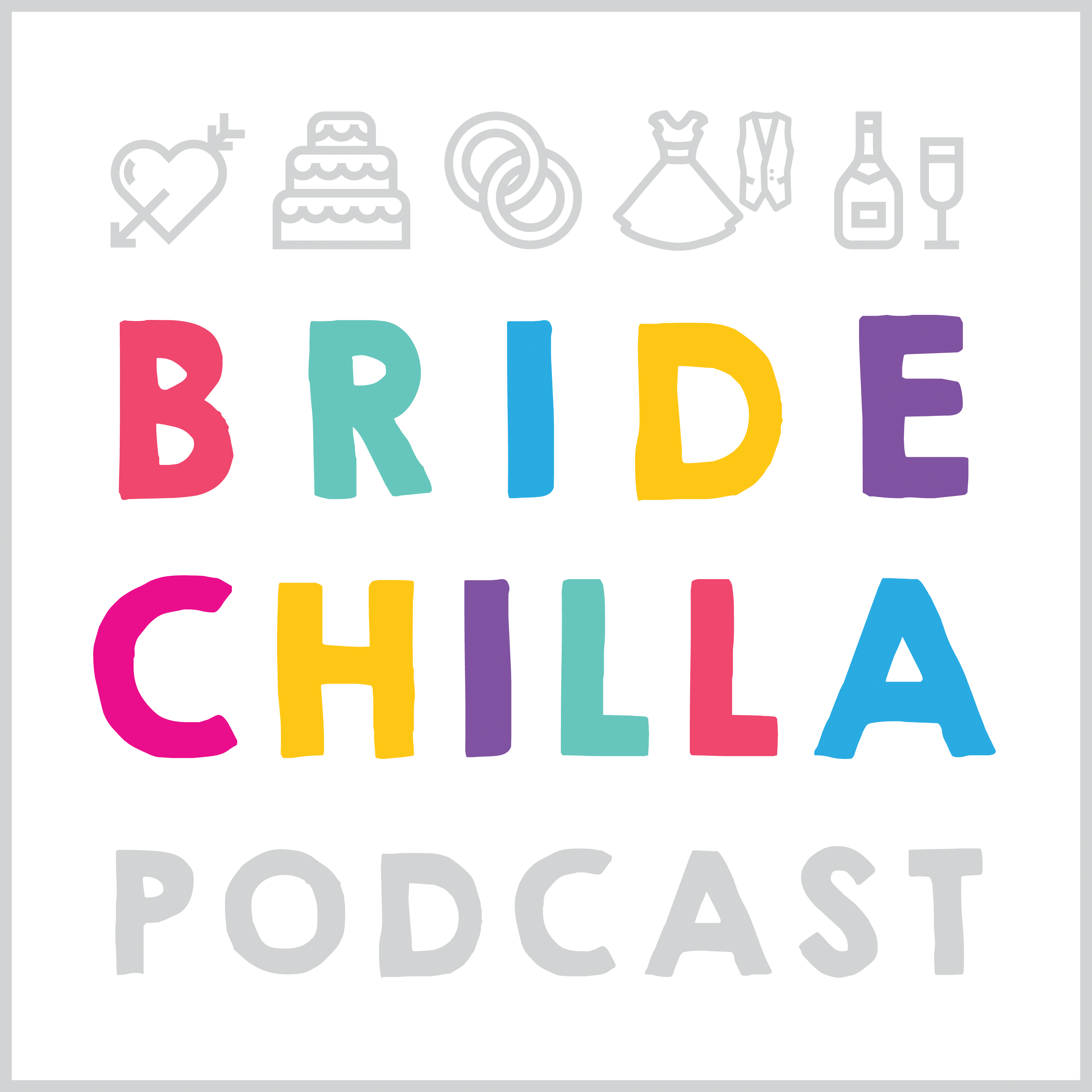 The Bridechilla Podcast - Wedding Planning advice for brides and grooms