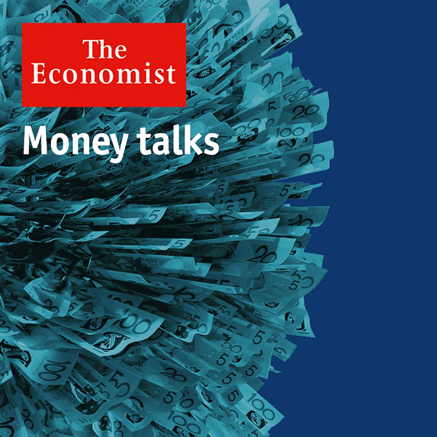 the economist money talks podcast feed image