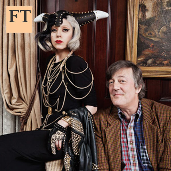 Stephen Fry and Lady Gaga: In conversation
